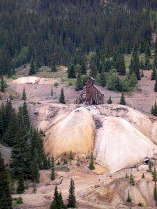 Idarado Mine near Ouray, Colorado by Kathy Weiser-Alexander.