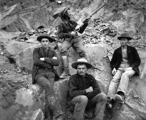 Ouray Miners, courtesy Denver Public Library