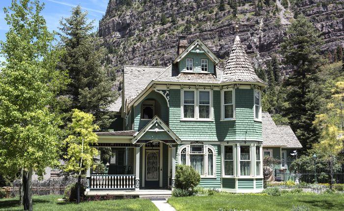 A Victorian Home in Ouray, Colorado by Carol Highsmith.