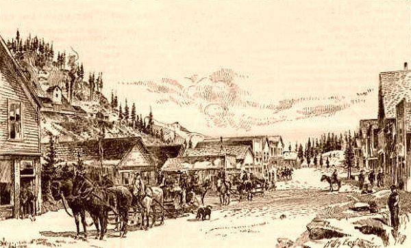 Red Mountain Town, Colorado, 1891. Courtesy Denver Public Library.
