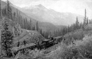 Silverton Railroad Switchback near Red Mountain Town, Colorado, by William Henry Jackson