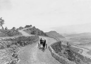 Skyline Drive, Canon City, Colorado by George Beam, about 1920.