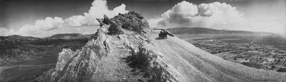 Skyline Drive, Canon City, Colorado by W. Babberger. early 1920s, courtesy Denver Public Library