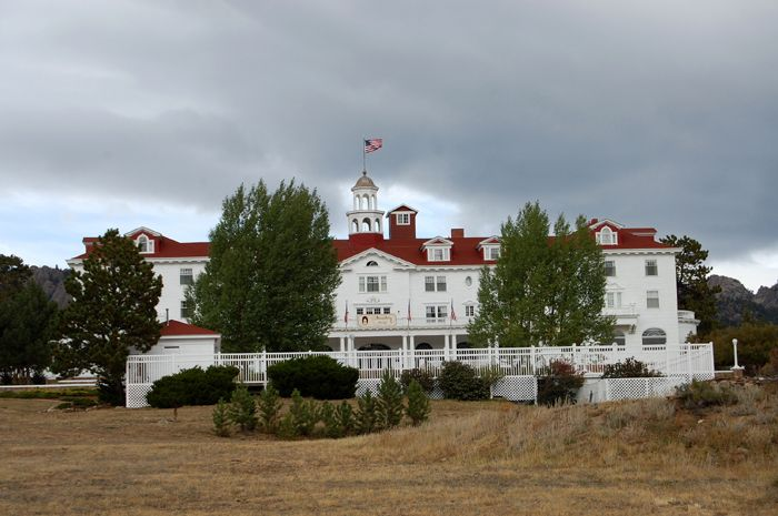 Stanley Hotel, Estes Park, Colorado by Kathy Weiser-Alexander.