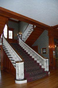 Stanley Hotel Stairway by Kathy Weiser-Alexander