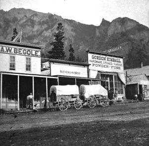 Third Street, Ouray, Colorado, 1881, courtesy Denver Public Library