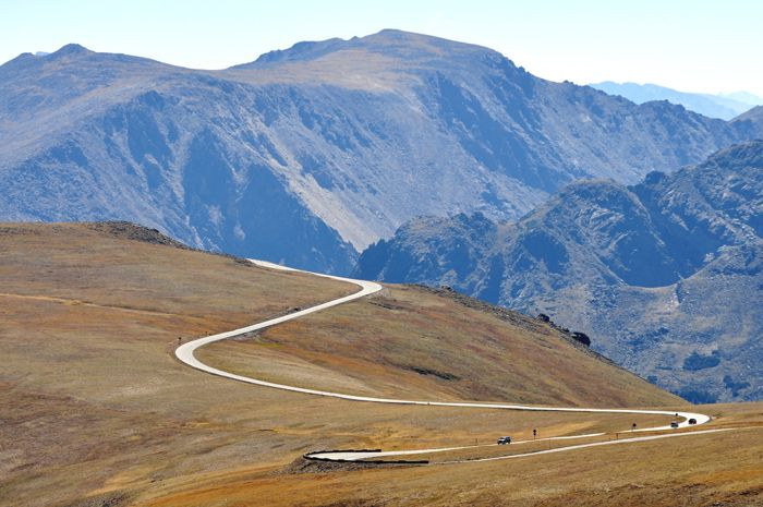 Trail Ridge Road in Rocky Mountain National Park