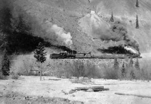Silverton Northern Railroad between Eureka and Animas Forks, Colorado
