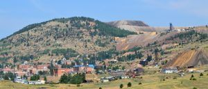 View of Victor, Colorado today, by Kathy Weiser-Alexander.