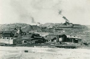 Portland Mine & Mill on Battle Mountain, Victor, Colorado