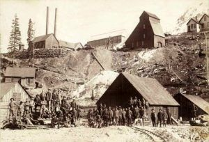 Yankee Girl Mine by W.J. Carpenter, 1890