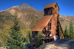 Yankee Girl Mine today by Sandy Horvath-Dori