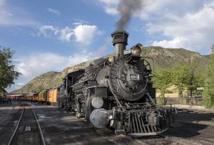 The Durango & Silverton Narrow Gauge Railroad by Carol Highsmith.
