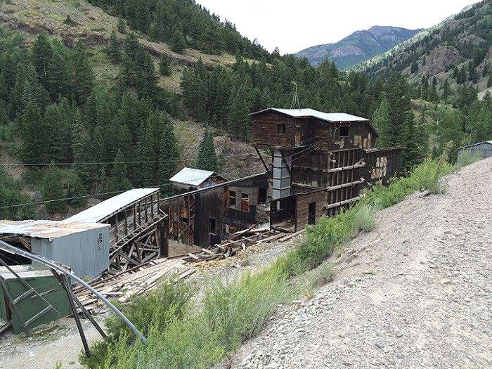 Ute-Ulay Mine near Lake City, Colorado, courtesy Historic Corps