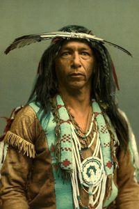 Arrowmaker, an Ojibwa brave, by the Detroit Photographic Co., 1903