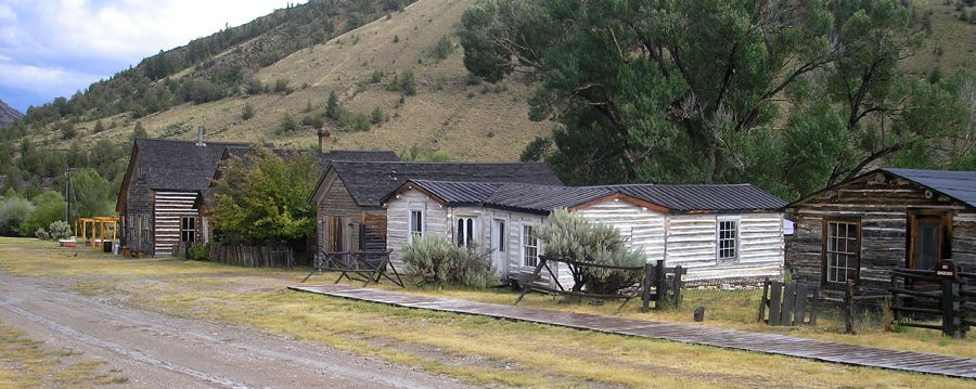 Bannack, Montana by Kathy Weiser-Alexander