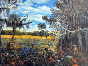 Battle of Okeechobee, Florida