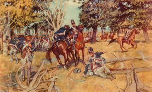 Battle of Fallen Timbers by H. Charles McBarron, Jr, 1953