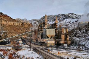 Carbon Power Plant at Castle Gate Utah by Loco Steve