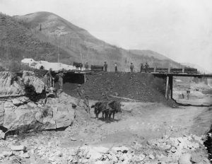 Coal Mining at Clear Creek, Utah