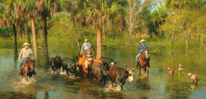 Cracker Cowboys Of Florida Legends Of America