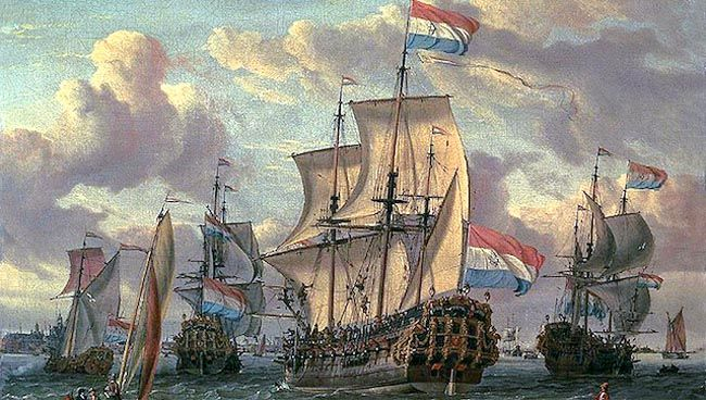 The Dutch Colony Of New Netherland Legends Of America