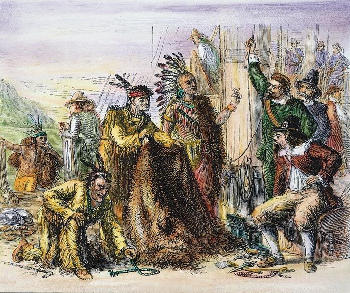 Dutch Fur Trade with the Indians