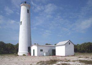 Egmont Key, Florida Lighthouse, courtesy Wikipedia