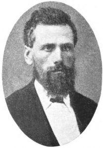 Ezra Meeker, 1854