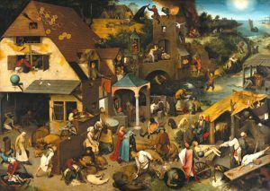 Folklore by Pieter Brueghel the Elder, 1559