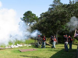 Fort Caroline, Florida Reenactment