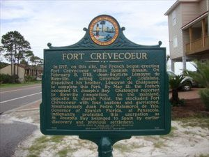 Fort Crevecoeur, Florida Historic Marker