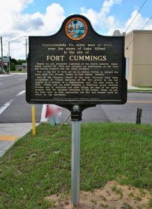 Fort Cummings, Florida Historic Marker