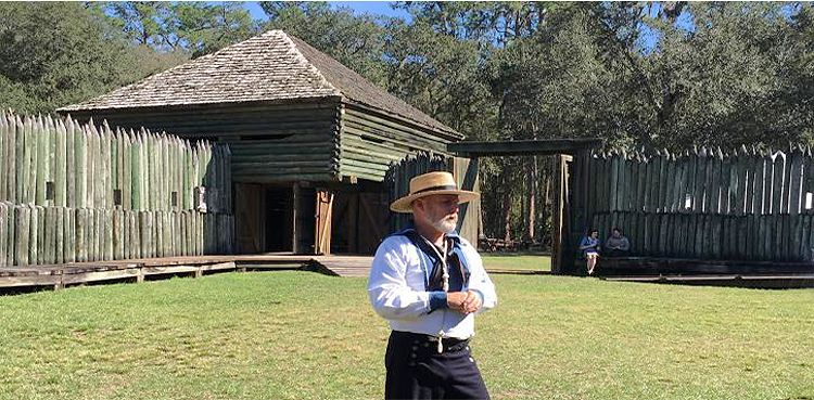 Fort Foster State Historic Site, Florida courtesy Florida State Parks