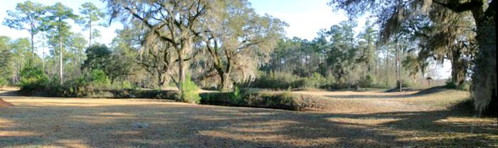 Fort Gadsden, Florida Earthworks, courtesy Fort Wiki