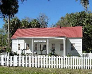 The Fort Shannon Officer Quarters, now serve as a museum in Palatka, Florida, photo courtesy Fort Wiki