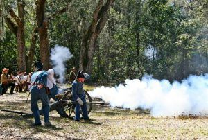 Fort Cooper, Florida Reenactment
