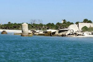 Fort Dade Submerged Ruins by Cindy Lane, Anna Maria Island Sun