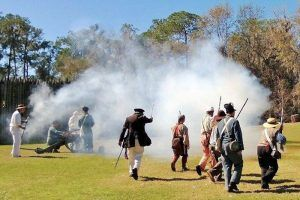Fort Foster Reenactment courtesy Crazy Crow Trading Post