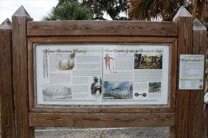 Fort Gatlin Historic Marker in Olando, Florida