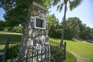 Fort King, Florida Monument by the Ocala Star Banner