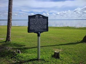 Fort Lane, Florida Historic Marker