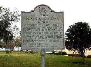 Fort Mellon Florida Historic Marker