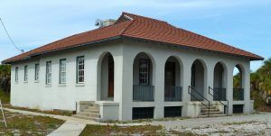 The Fort Dade Guardhouse on Egmont Key has been restored today, John Stanton, Fort Wiki