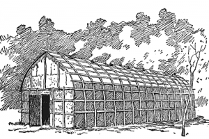 Iroquois Longhouse