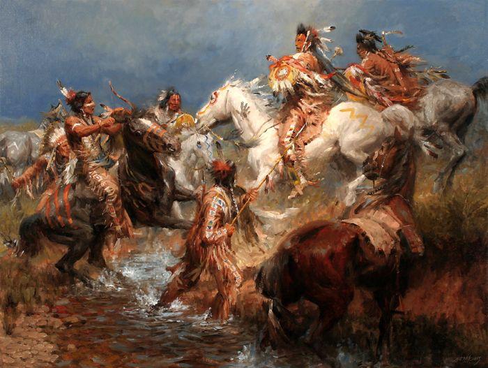 Iroquois in War