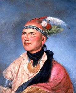 Mohawk Chief Joseph Brant by Charles Willson Peale