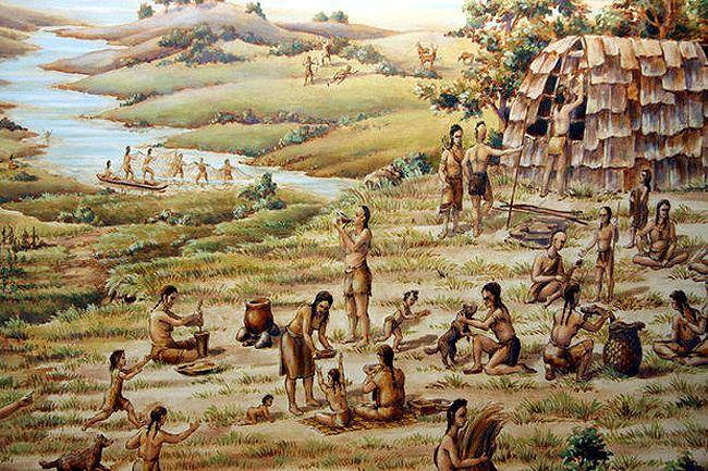 Lenape Scene