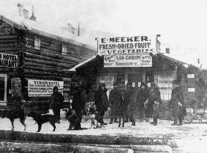Meeker Log Cabin Grocery, Dawson City, Yukon, Canada