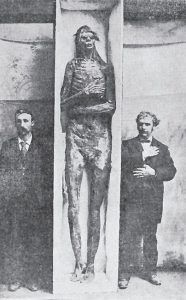 A Mummified Giant found in California